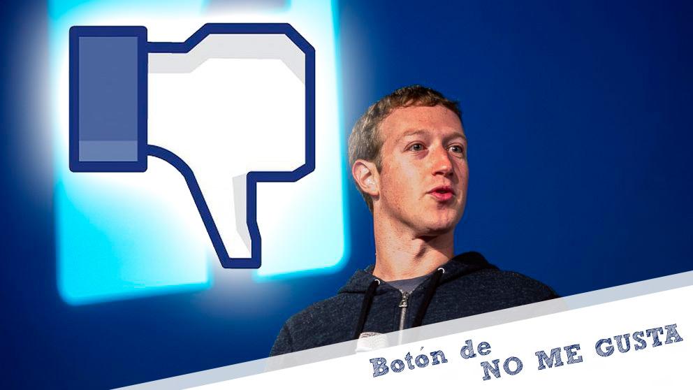 ¿Botón de No me gusta en Facebook?