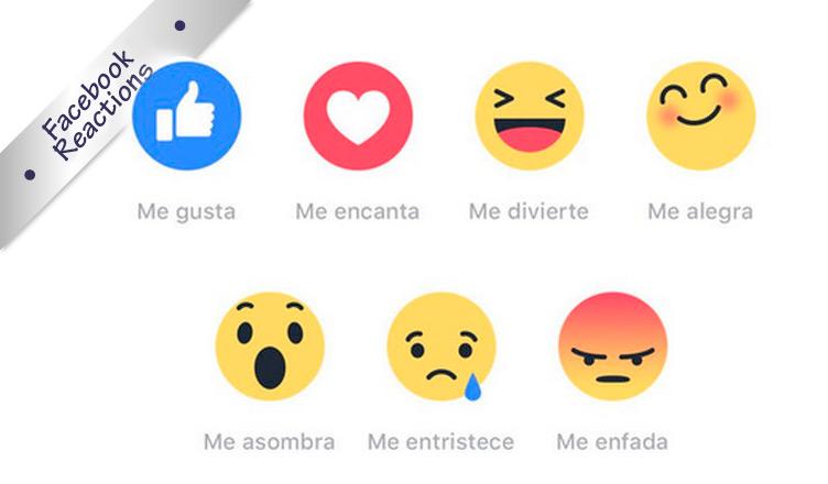 6 nuevos emoticonos en Facebook para expresar emociones
